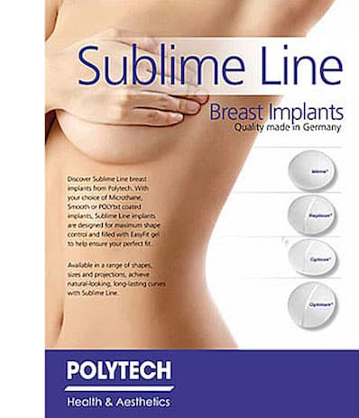Breast implant brands